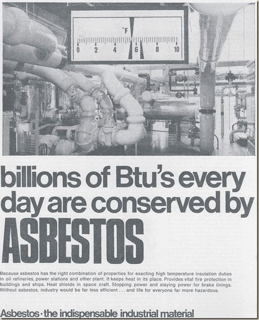 1968 If Only Mesothelioma Asbestos Old Ads