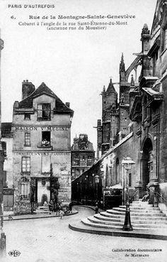 Rue Saint Etienne du Mont - Paris                                                                                                                                                                                 Plus
