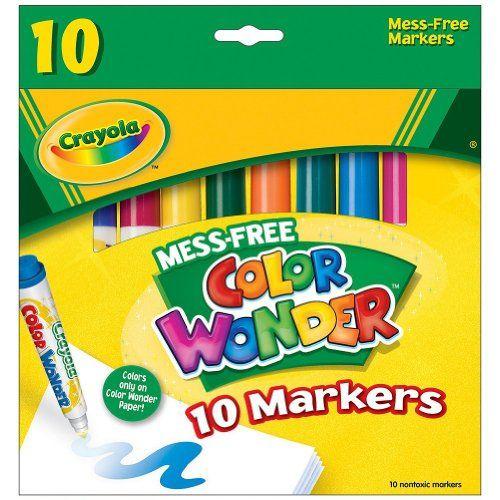 crayola color wonder mini markers amazon # 18
