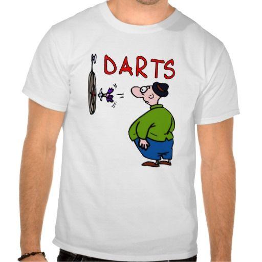 Darts Player Cartoon