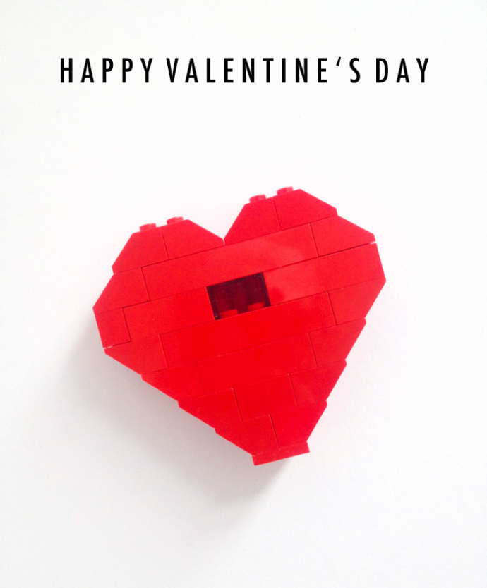Sally J Shim Lego Heart By J My Boys Ugallery Be Art Guest