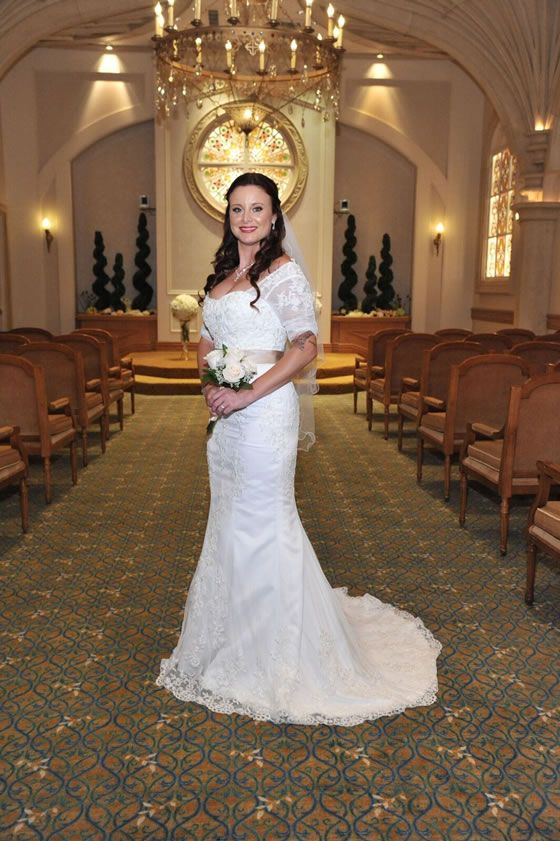 Beautiful Bride The Chapel At Excalibur Las Vegas