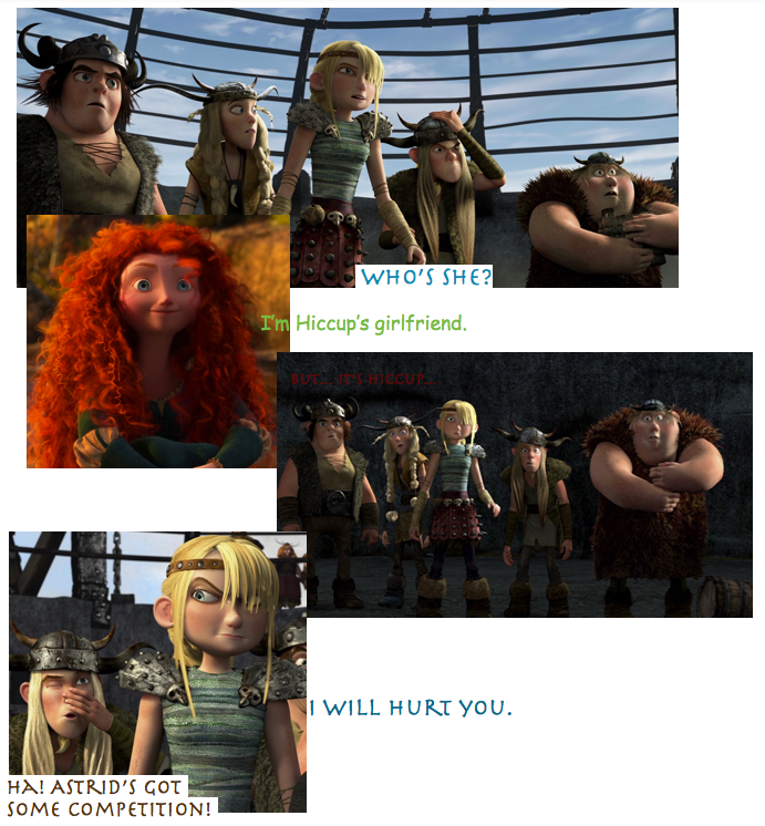 I'm hiccup's girlfriend