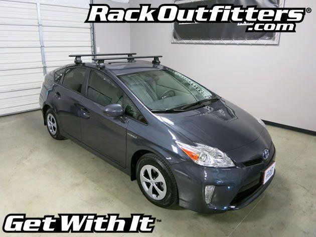 Rack Outfitters   Toyota Prius Thule Rapid Traverse BLACK AeroBlade Roof  Rack U002710 U0027