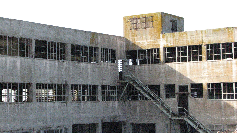 Building Ruins On Alcatraz Alcatraz Ca Building Multi Story