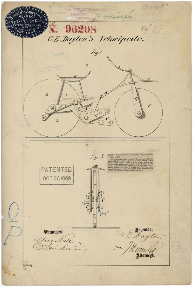 Patented october 26 1869 this is the patent drawing for a explore blueprint art vintage clip art and more malvernweather Choice Image
