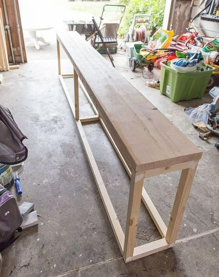 Cheap And Easy Sofa Table DIY For Anyroom