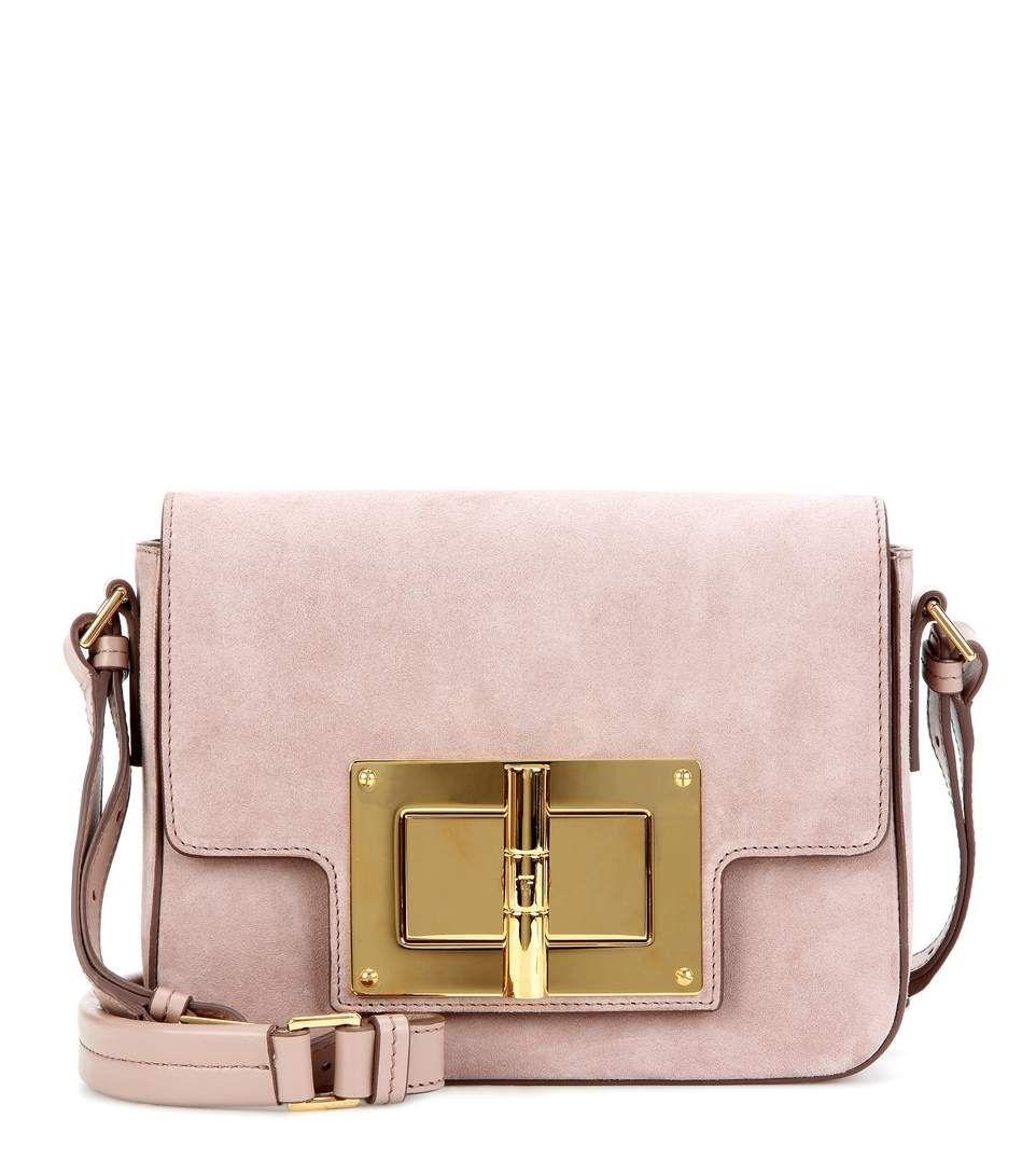 eef3db3a0e56d Natalia Medium pink suede shoulder bag