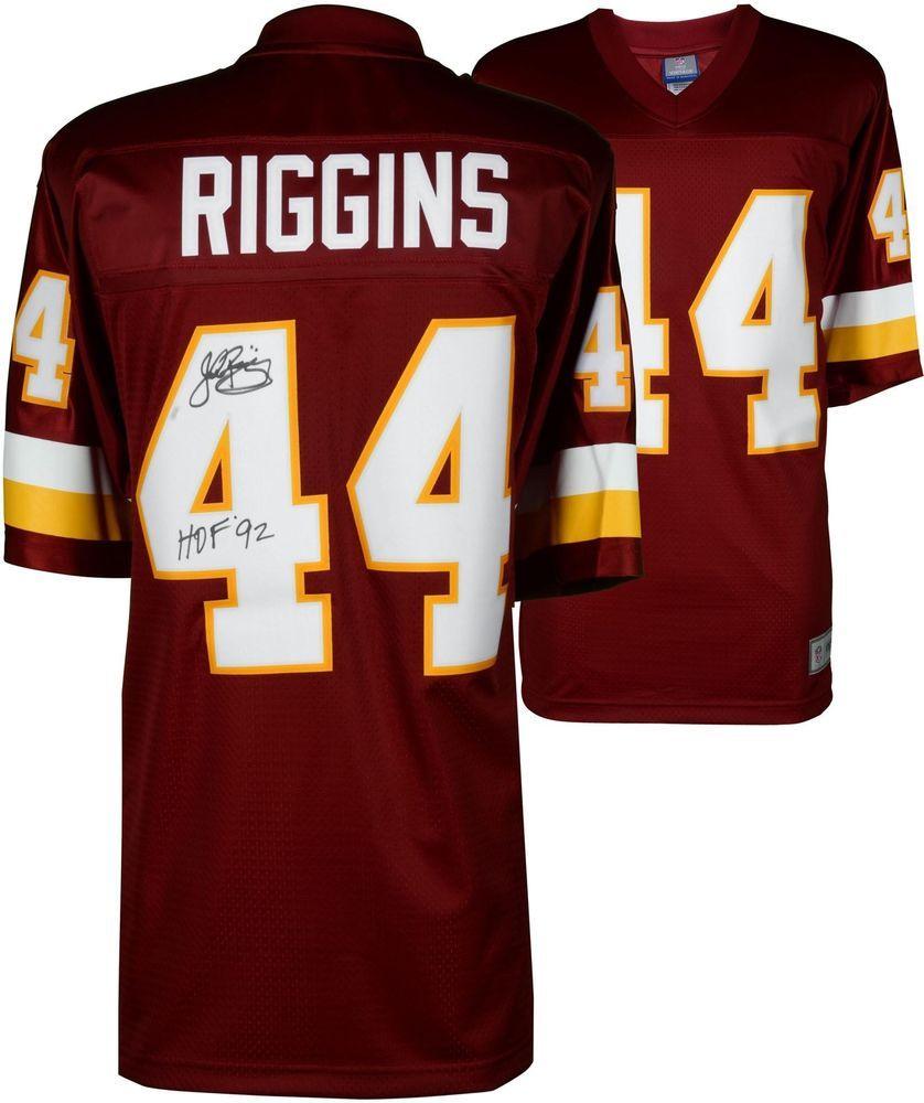 ae3ac564a John Riggins Redskins Autographed Red Mitchell & Ness Replica Jersey -  Fanatics #sportsmemorabilia #autograph #football