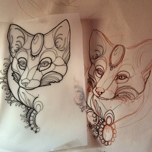 Foxy #fox #tattoo #florence
