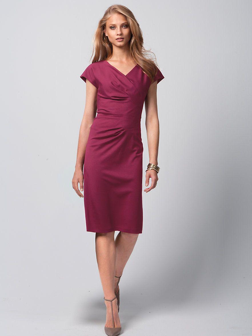 Fadenmeister Berlin - Hochwertiges Jersey-Kleid - Beere  Kleid