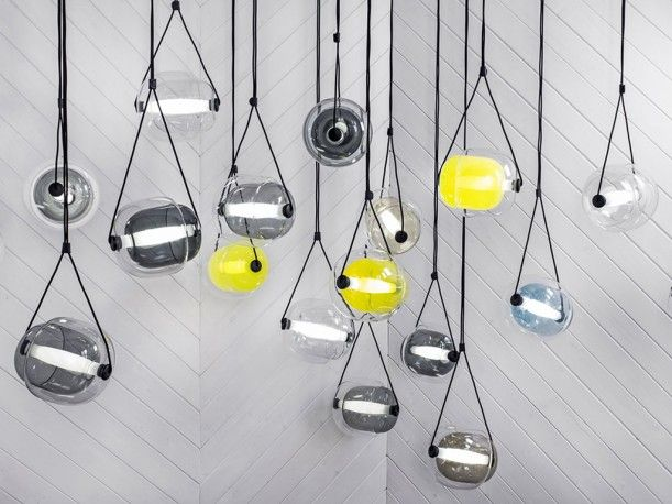 Great CAPSULA Pendant Light Designed By Lucie Koldova For BROKIS.  Http://santiccioli. Nice Look