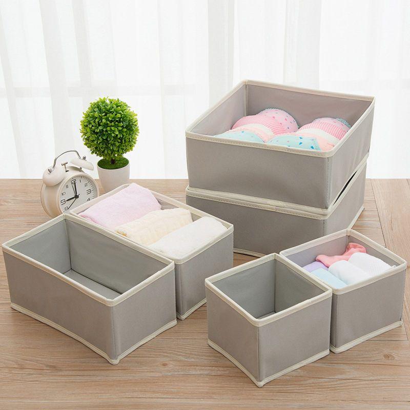 Underwear Bra Divider Closet Organizer Ties Sock Container Home Storage Box~