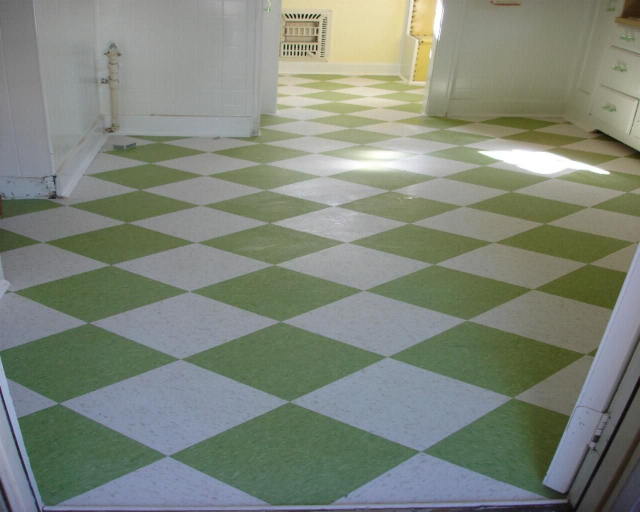 VCT flooring installation in kitchen Contractor