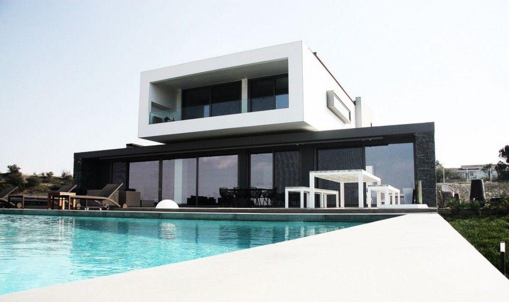 Une résidence privée en Grèce par Office 25 Architects Maisons de - Facade Maison Style Moderne
