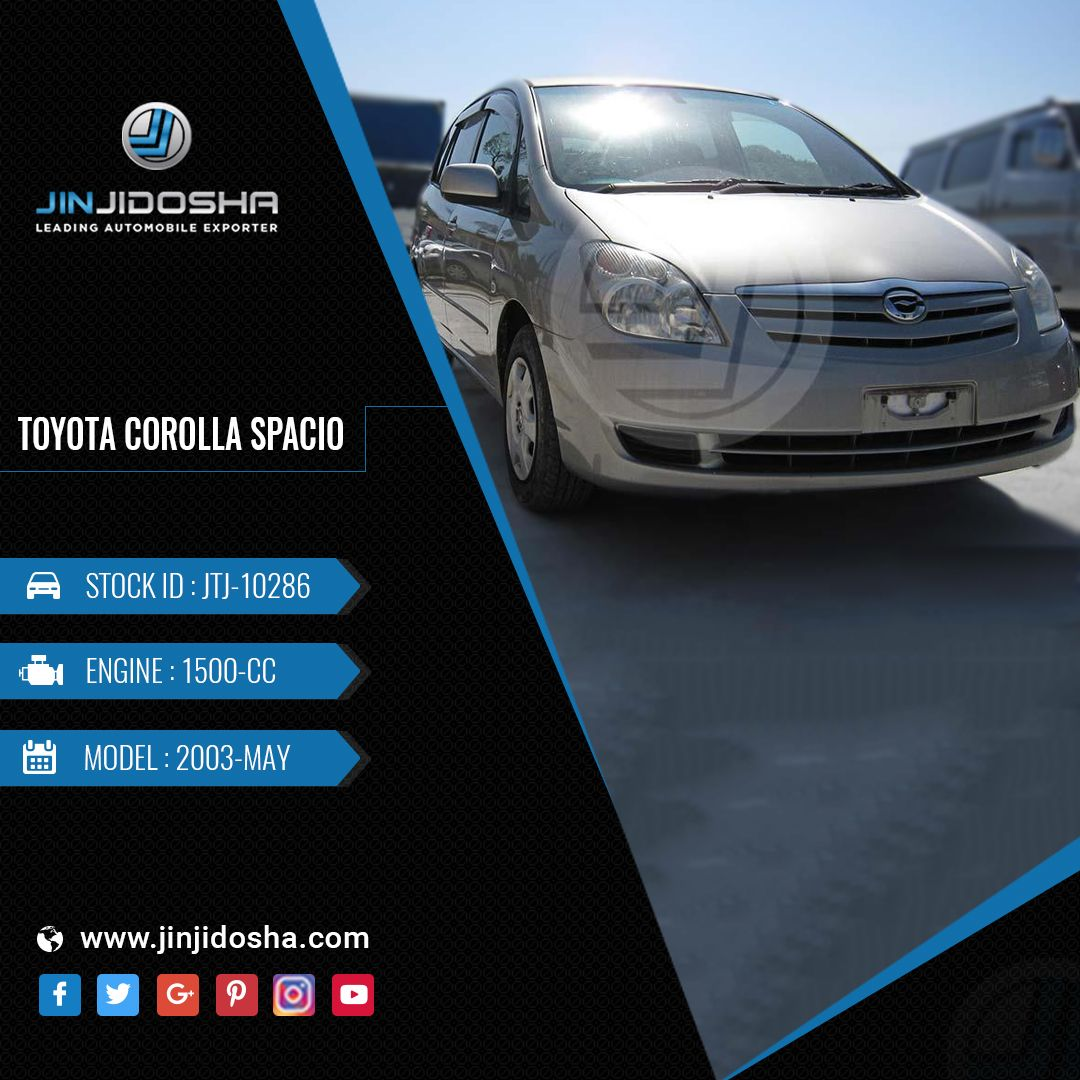 Your TOYOTA COROLLA SPACIO In Stock Now! Car Details
