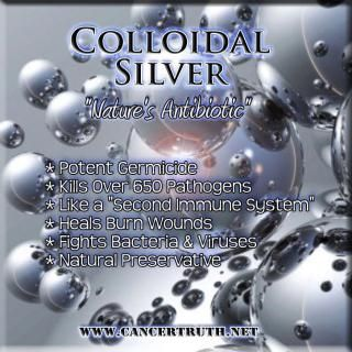 colloidal silver & acv for allergies -great info