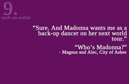 The Mortal Instruments #Alec #Magnus =Malec