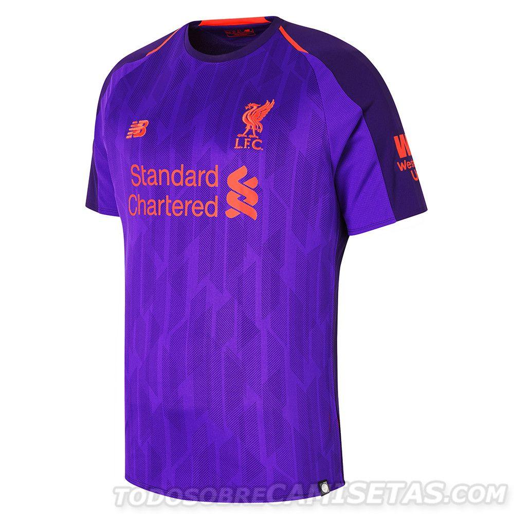 Liverpool FC 2018-19 New Balance Away Kit  ae25978807