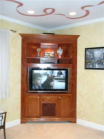 Interiors By Doreen Corner Tv Cabinets Corner Tv Small Living