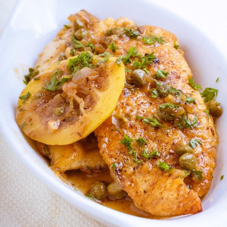 بيكاتا الدجاج لرجيم صحي مطبخ سيدتي Recipe Chicken Picatta Recipe Picatta Recipe Lemon Chicken Recipe