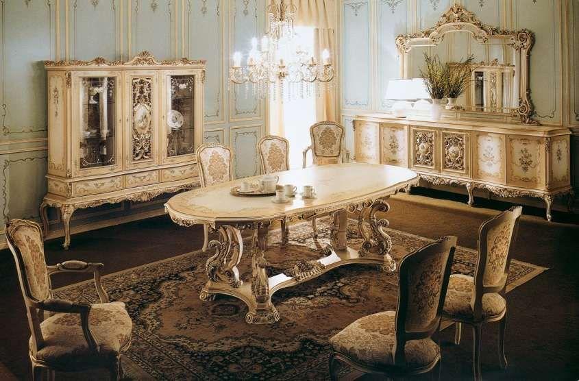 Sala da pranzo stile veneziano - Come arredare la sala da pranzo in ...