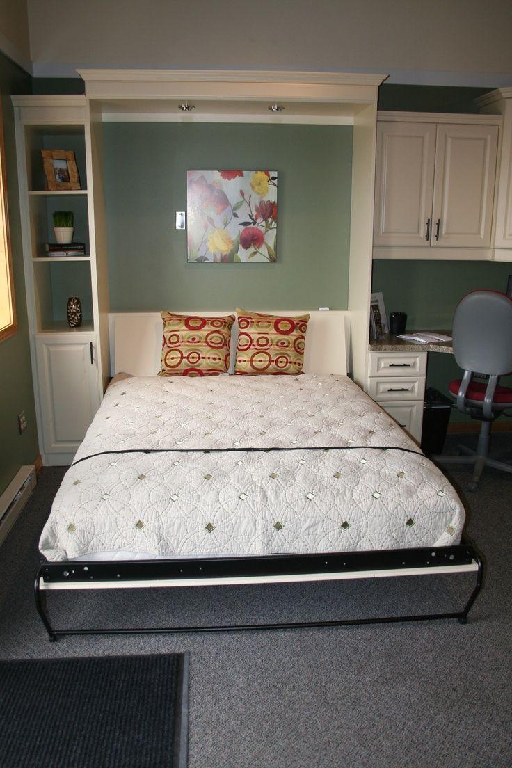 Space saving murphy bed designs home tips pinterest murphy bed