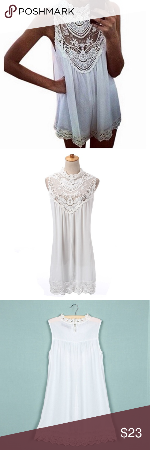 Laced Up Very cute top/dress so nice and wonderful. Tops