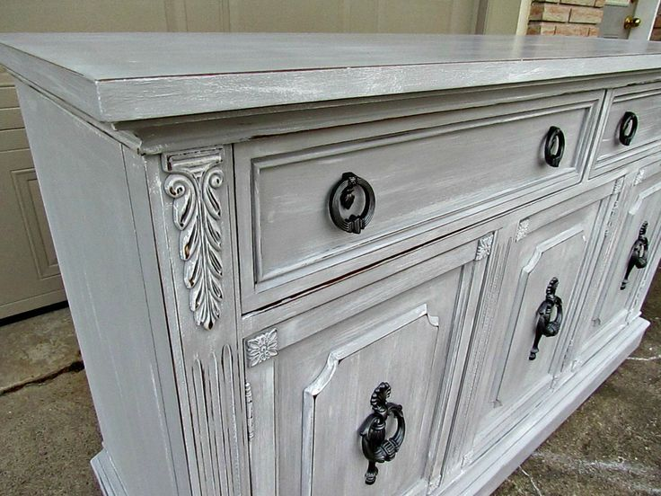 Paris Gray Chalk Paint Diy Furniture Pinterest Gray