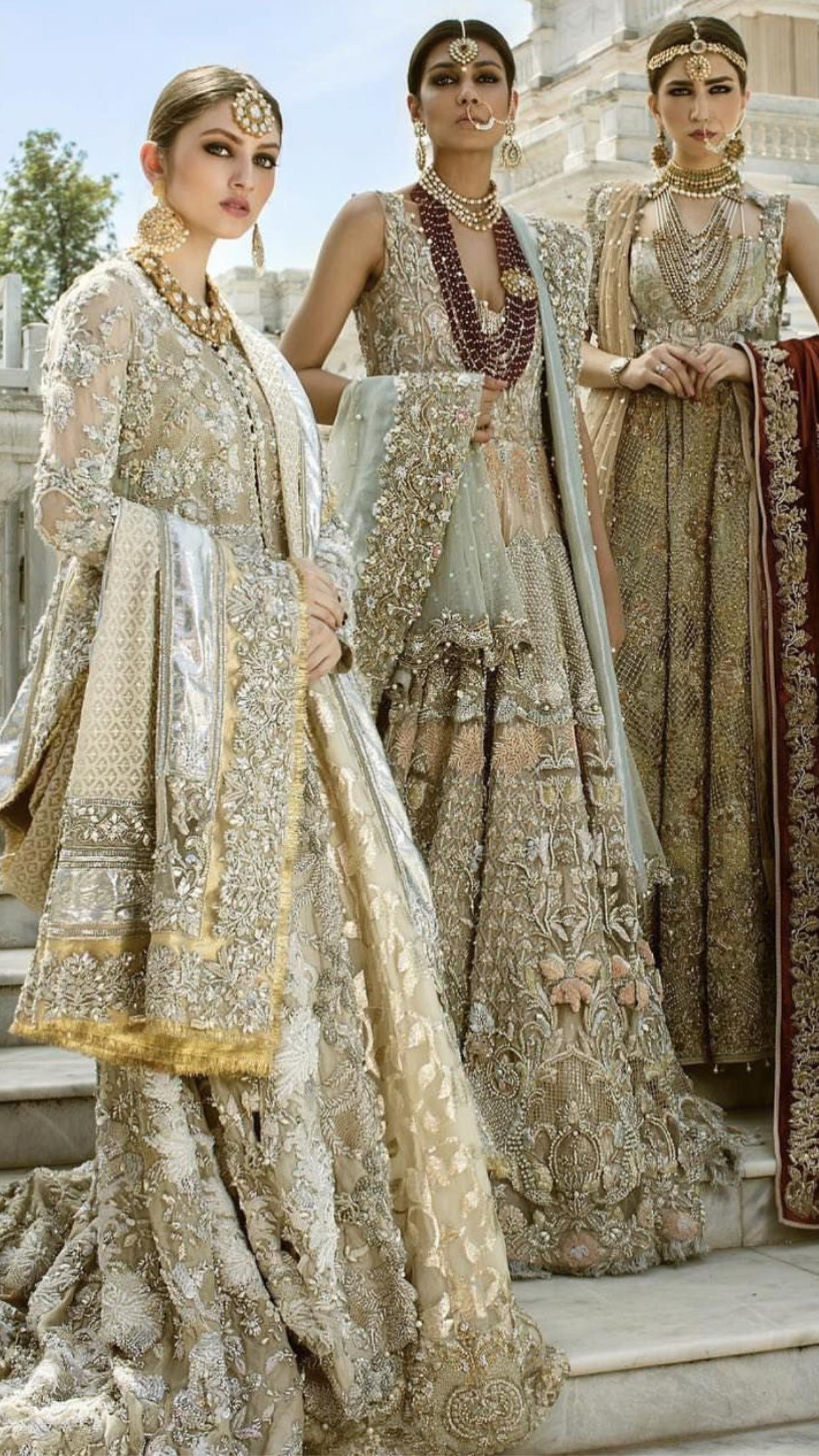 Pakistani couture | v b | Pinterest | De época, Trajes de época y ...