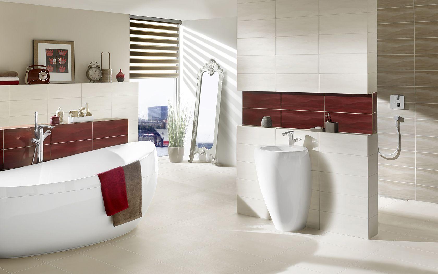 Harmonisches Farbspiel   Bad fliesen, Modernes weißes badezimmer ...