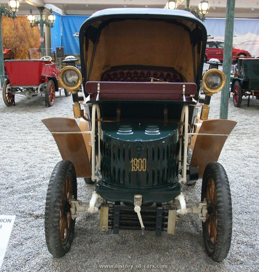 Maurer-Union Typ IB Vis-à-Vis 1900, Germany | pre-1900 and 1900 cars ...