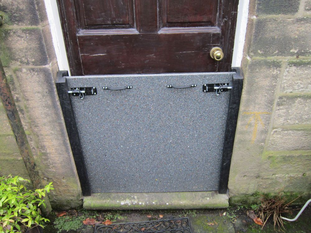 800mm High Flood Barrier For Front Door Flood Protection Flooding