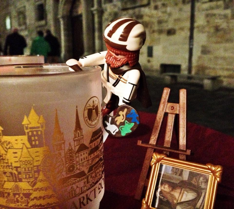 Little Albrecht Dürer loves the hot mulled wine at the Christkindlesmarkt... :) #meandmyduerer #ckm14