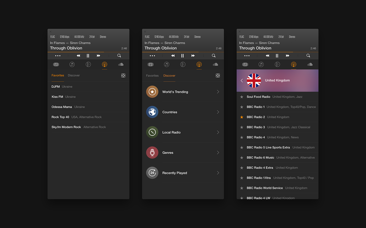 VOX — Music Player for Mac on Behance Vox music, World