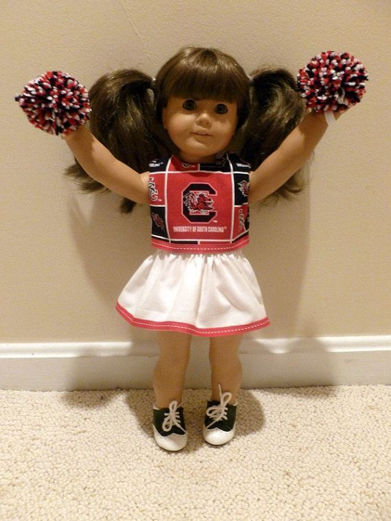 American Girl doll clothes cheerleader USC Gamecocks 18 inch doll football South Carolina #18inchcheerleaderclothes American Girl doll clothes cheerleader USC by OffTheHookbyLora, $17.00 #18inchcheerleaderclothes American Girl doll clothes cheerleader USC Gamecocks 18 inch doll football South Carolina #18inchcheerleaderclothes American Girl doll clothes cheerleader USC by OffTheHookbyLora, $17.00 #18inchcheerleaderclothes