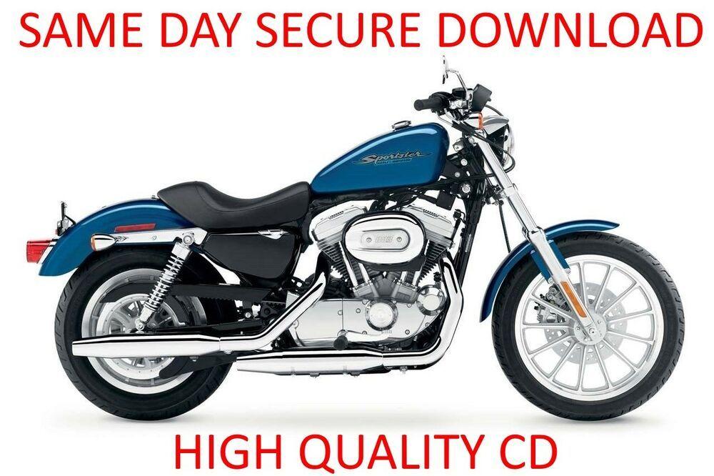 Advertisement Ebay 2004 2006 Harley Davidson Sportster Xl Motorcycle Workshop Harley Davidson Sportster Harley Davidson Sportster 883 Classic Harley Davidson