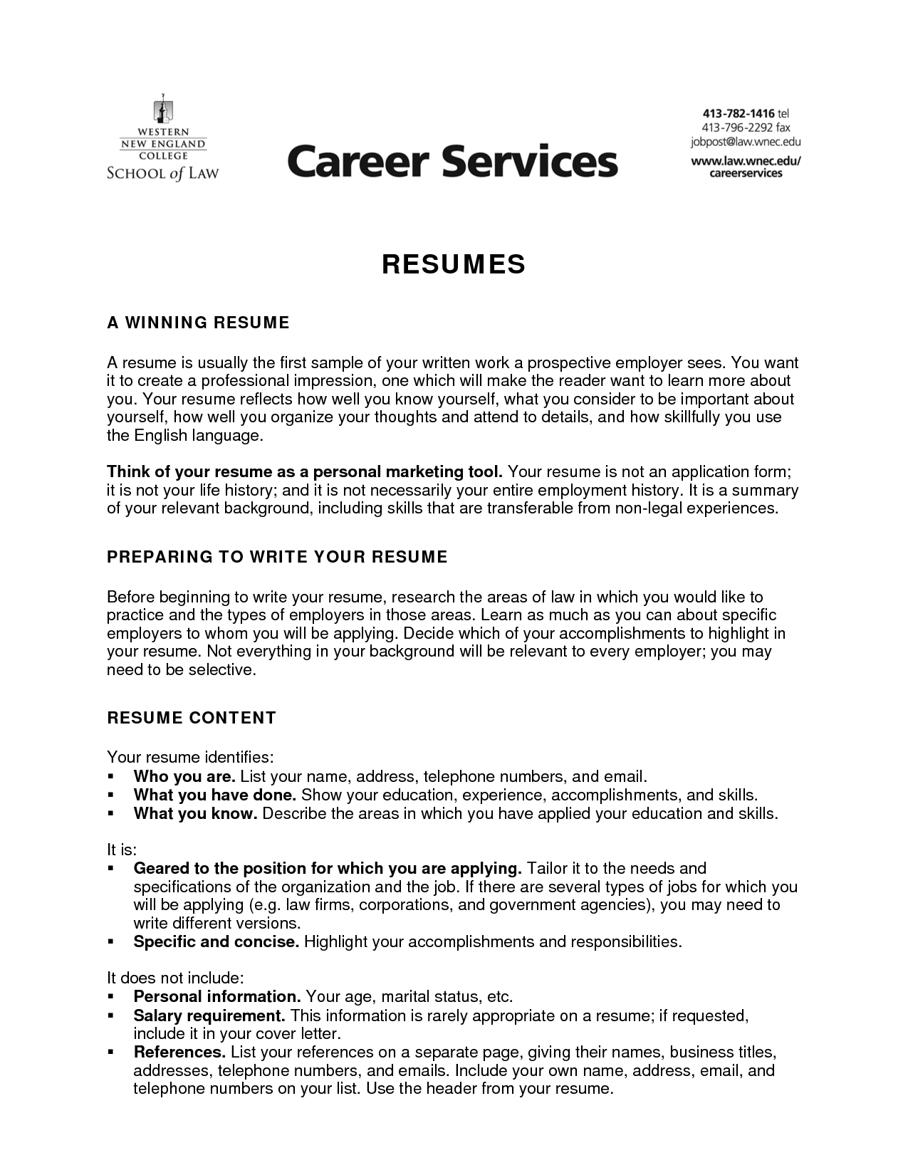 Resume Writing  How Resume Is Written