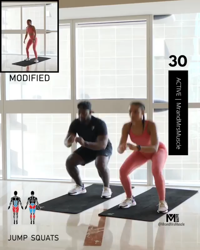 Hiit Cardio workouts at home fat burning woman