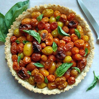 Fresh Tomato Tart — A Spicy Perspective