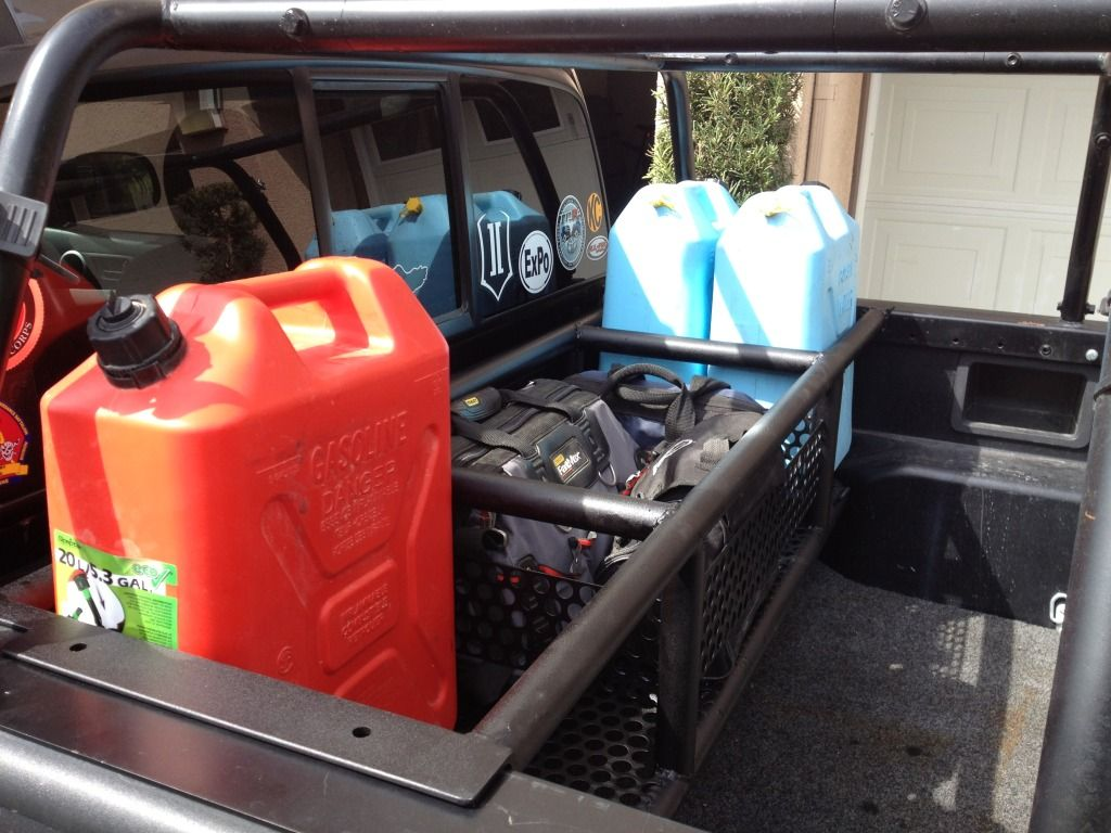Tacoma Bed Can And Tool Storage Expedition Portal Toyota Pinterest Toyota Cars And Back