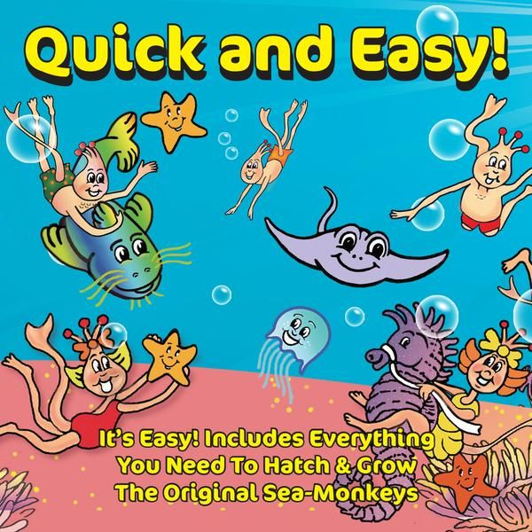 Sea Monkeys Quick Easy Sea Monkeys Monkey Sea