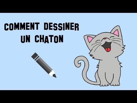Comment dessiner un chaton trop mignon facilement youtube dessiner comment dessiner - Dessiner un poisson facilement ...