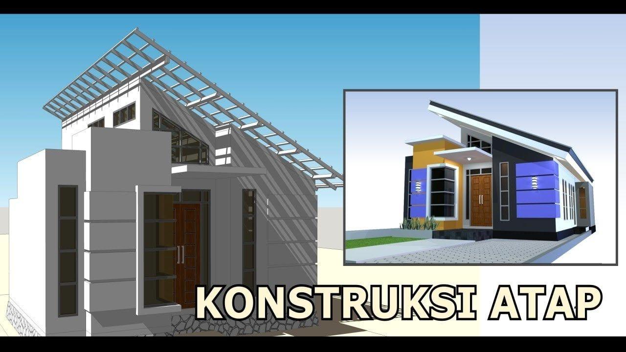 Desain Atap Rumah Minimalis Miring