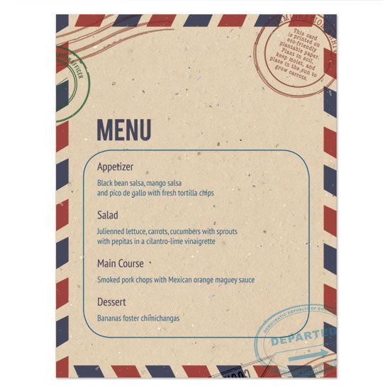 Flat menu   Destination & Travel   Pinterest
