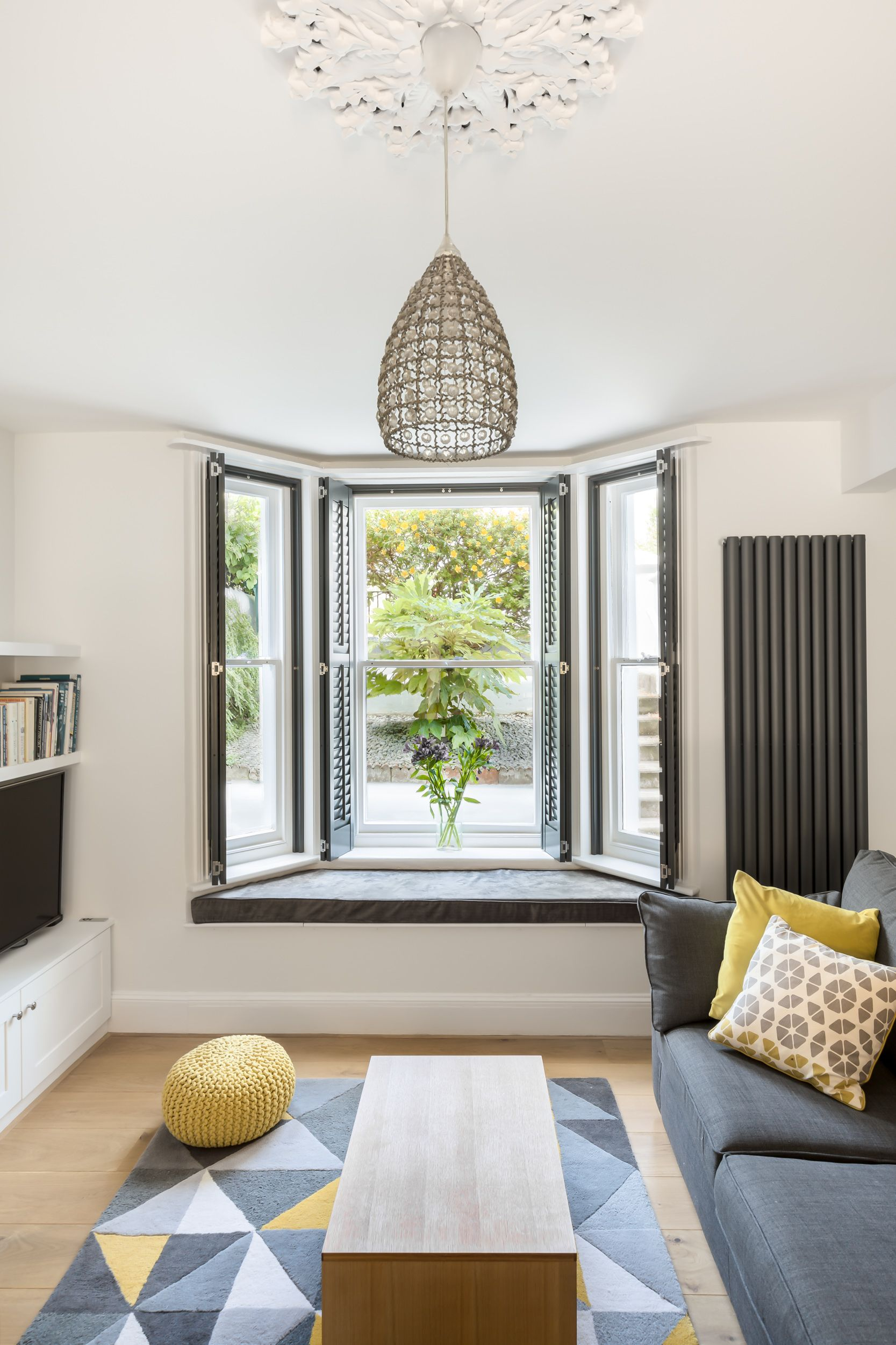 Lounge renovation to period property in Brighton