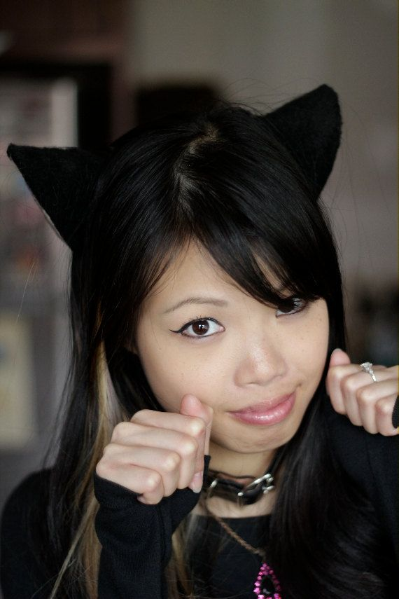 Black Cat Ears Loveless Anime Cosplay by EVSeraphine on ...