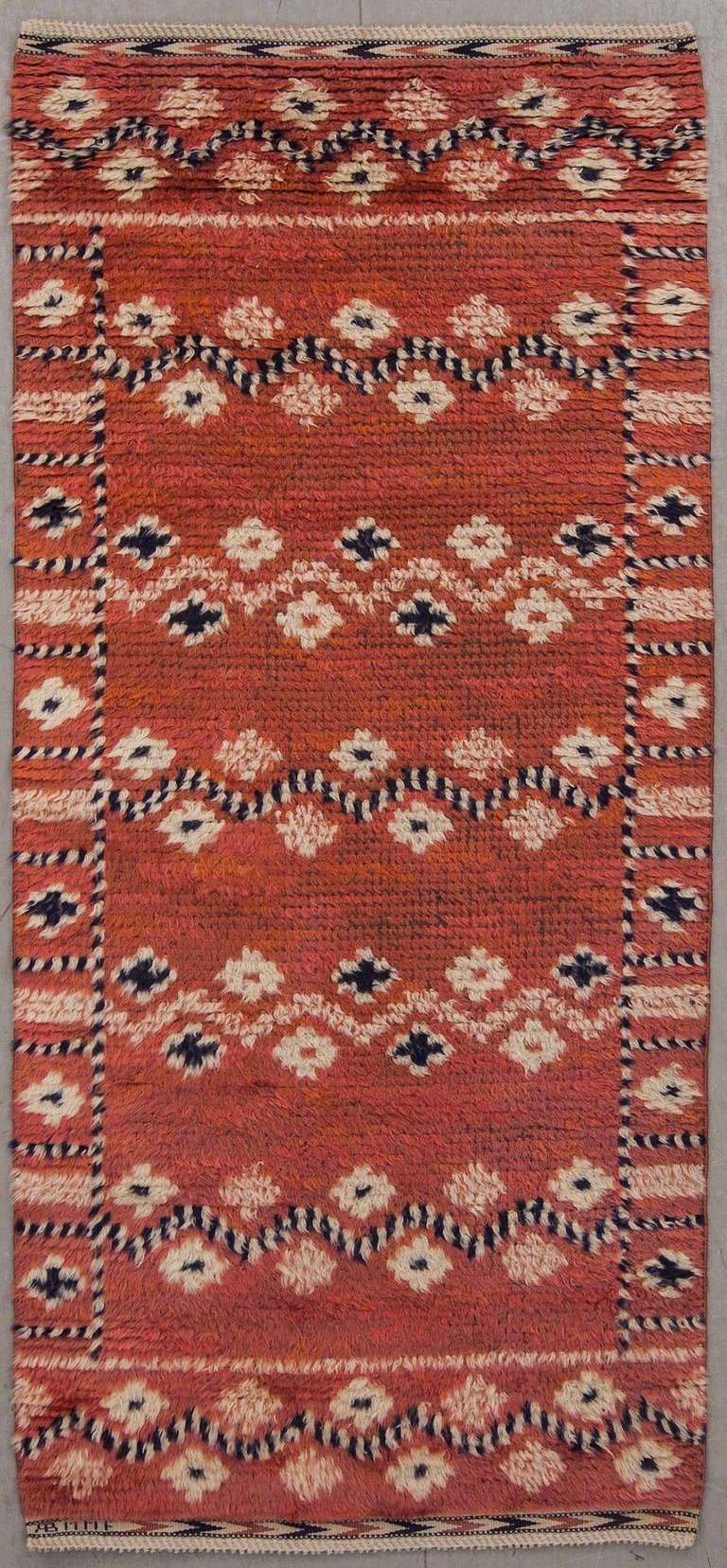 Rare Carpet Red Trial By Ab Marta Maas Fjetterstrom Scandinavian Rug Rugs On Carpet Carpet