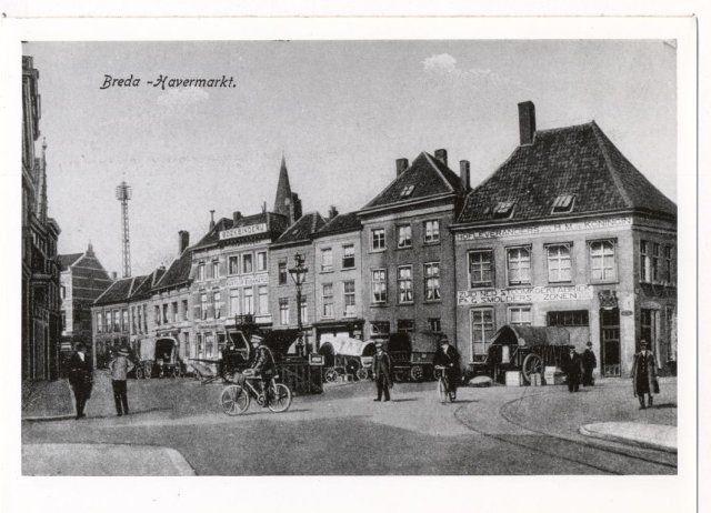 Havermarkt rond 1900