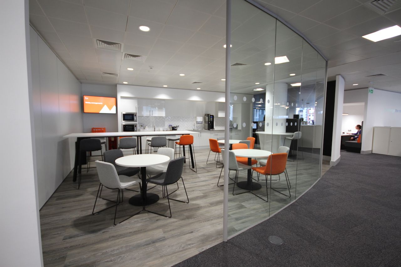 Our Designed Desk Area For Engineering Firm Mott Macdonald In Leeds Desk Areas Home Decor Furniture